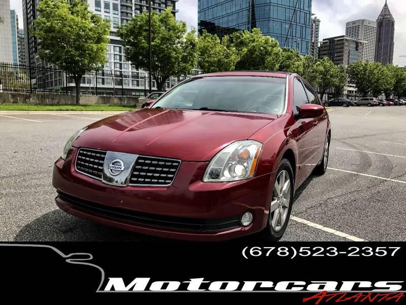 2006 Nissan Maxima For Sale At Motorcars Atlanta In Atlanta GA