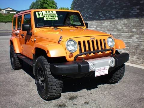 2012 Jeep Wrangler Unlimited for sale at Independent Performance Sales & Service in Wenatchee WA