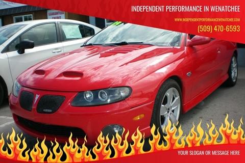 Pontiac For Sale in Wenatchee, WA - Independent Performance