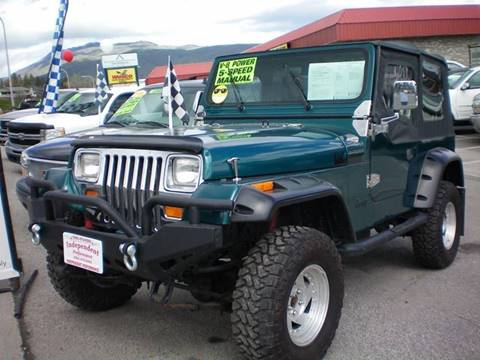 1989 Jeep Wrangler for sale at Independent Performance Sales & Service in Wenatchee WA