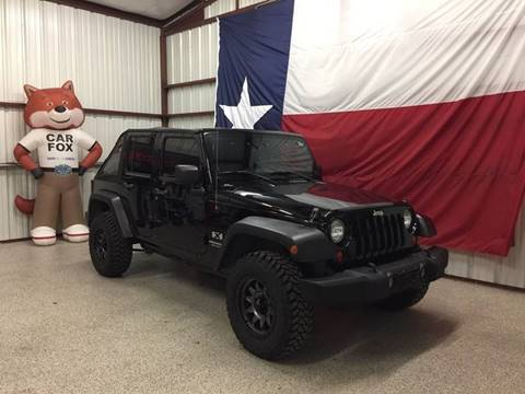 2007 Jeep Wrangler Unlimited for sale at Veritas Motors in San Antonio TX
