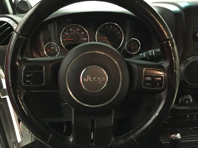 2011 Jeep Wrangler Unlimited for sale at Veritas Motors in San Antonio TX