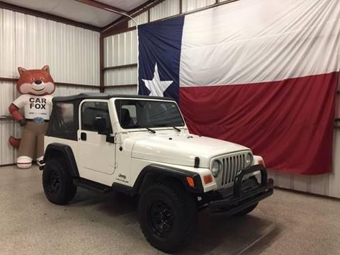 2006 Jeep Wrangler for sale at Veritas Motors in San Antonio TX