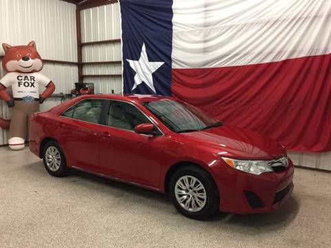 2012 Toyota Camry for sale at Veritas Motors in San Antonio TX