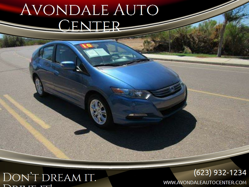 2010 Honda Insight For Sale At Avondale Auto Center In Avondale AZ