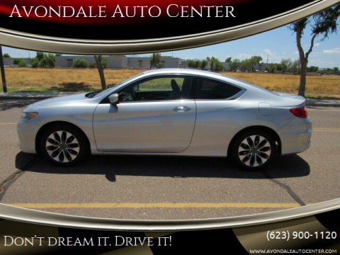 2013 Honda Accord for sale at Avondale Auto Center in Avondale AZ