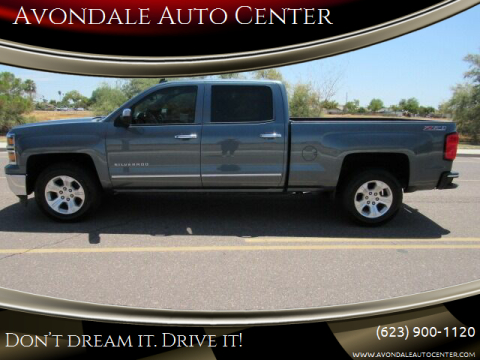2014 Chevrolet Silverado 1500 for sale at Avondale Auto Center in Avondale AZ
