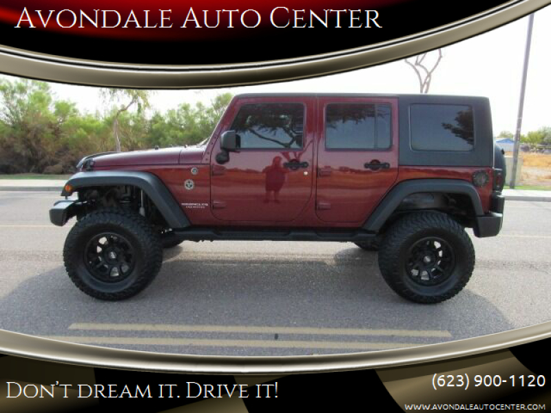 2008 Jeep Wrangler Unlimited for sale at Avondale Auto Center in Avondale AZ