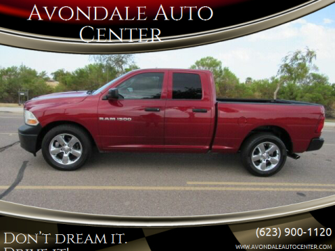 2012 RAM Ram Pickup 1500 for sale at Avondale Auto Center in Avondale AZ