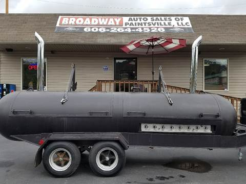 GAS/ WOOD/CHARCOAL GRILL BIG BERTHA for sale in Paintsville, KY
