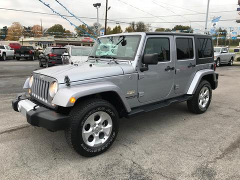 2015 Jeep Wrangler Unlimited for sale in Somerset, KY