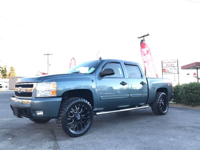 2008 chevrolet silverado 1500 4wd lt1 4dr crew cab 5 8 ft sb in stokesdale nc key automotive. Black Bedroom Furniture Sets. Home Design Ideas