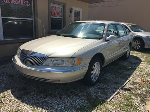 2002 Lincoln Continental for sale in Debary, FL
