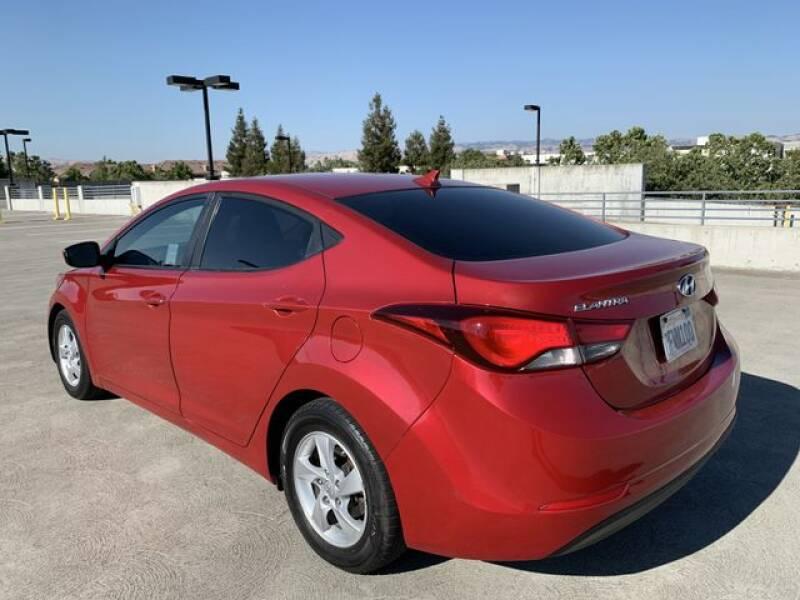 2014 Hyundai Elantra SE Sedan 4D - Santa Clara CA