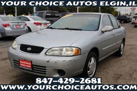 2002 Nissan Sentra For Sale In Elgin, IL