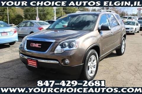 2009 GMC Acadia for sale in Elgin, IL