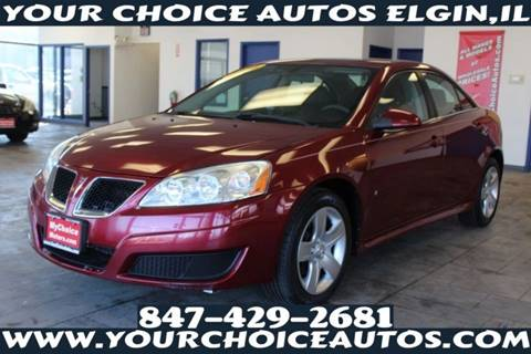 2010 Pontiac G6 for sale in Elgin, IL