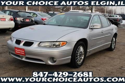 2001 Pontiac Grand Prix For Sale Carsforsale Com