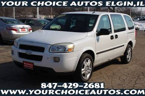 2008 Chevrolet Uplander for sale in Elgin, IL