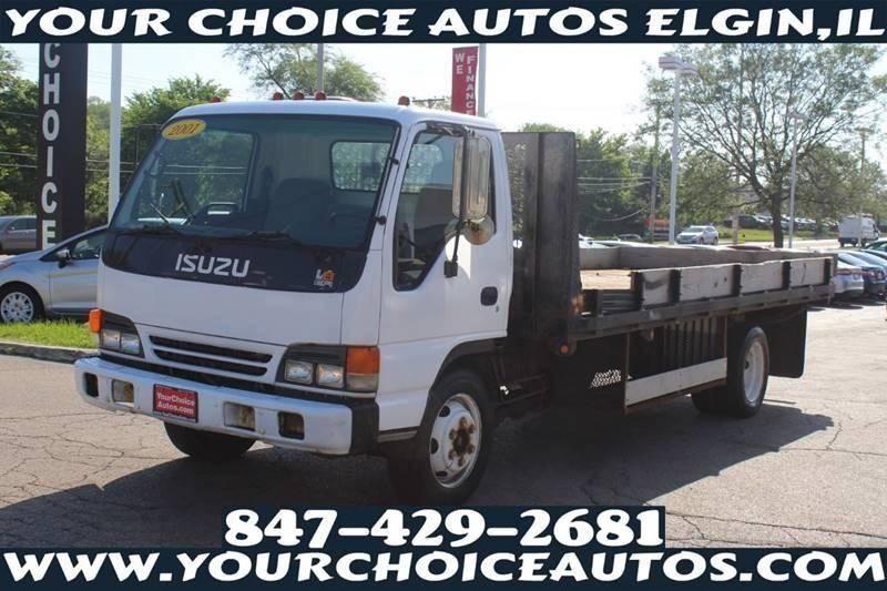 2001 Isuzu  4X2 2dr 67.0 in. BBC Tilt Cab