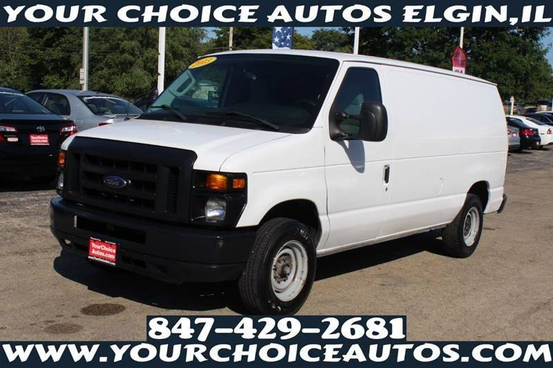 2013 Ford  E 150 3dr Cargo Van