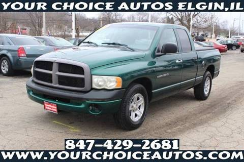 2003 Dodge Ram Pickup 1500 ST for sale at Your Choice Autos - Elgin in Elgin IL