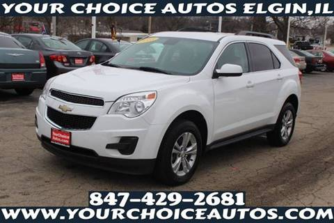 2013 Chevrolet Equinox LT for sale at Your Choice Autos - Elgin in Elgin IL
