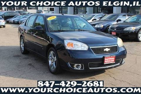 2006 Chevrolet Malibu LTZ for sale at Your Choice Autos - Elgin in Elgin IL