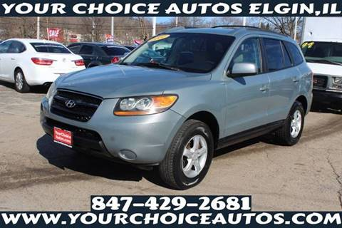 2007 Hyundai Santa Fe GLS for sale at Your Choice Autos - Elgin in Elgin IL