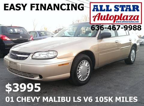 2001 Chevrolet Malibu for sale in Arnold, MO