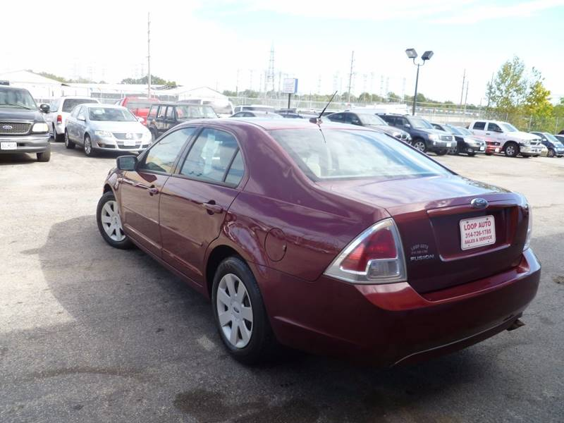 2007 Ford Fusion I-4 S 4dr Sedan - Saint Louis MO