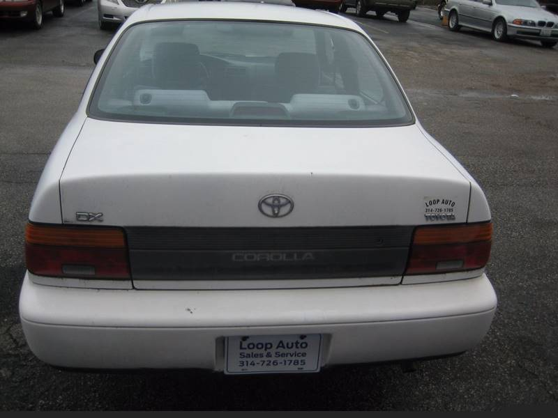 1994 Toyota Corolla DX 4dr Sedan - Saint Louis MO