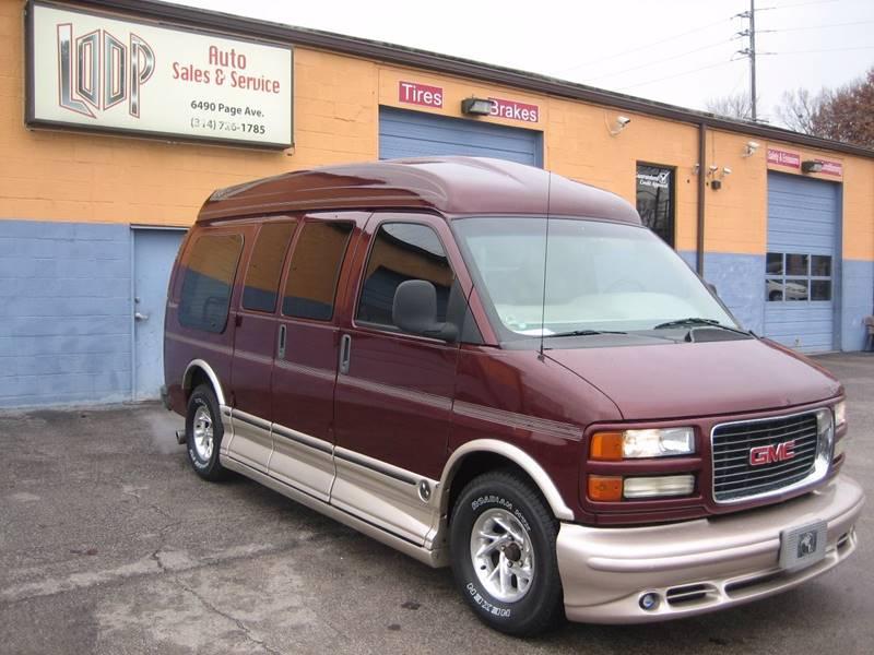 2002 GMC SAVANA RV G1500 - Saint Louis MO