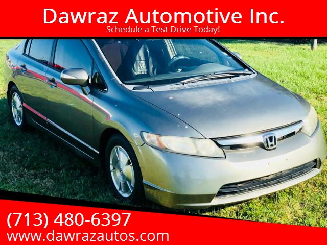 2006 Honda Civic For Sale At Dawraz Automotive Inc. In Houston TX