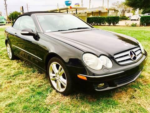 2007 Mercedes-Benz CLK for sale in Houston, TX