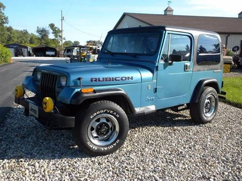 1988 Jeep Wrangler for sale in Fairmount, IN