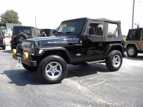 1997 Jeep Wrangler for sale in Fairmount, IN