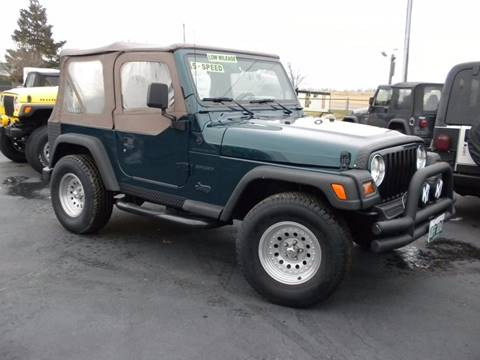 1998 Jeep Wrangler for sale in Fairmount, IN
