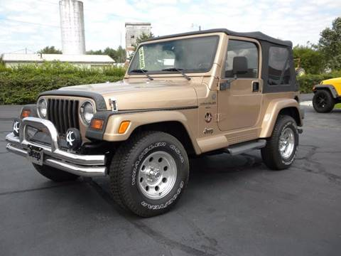 used 1999 jeep wrangler for sale in indiana. Black Bedroom Furniture Sets. Home Design Ideas
