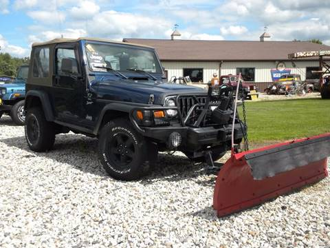 2000 Jeep Wrangler for sale in Fairmount, IN