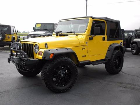 Used 2001 Jeep Wrangler For Sale in Indiana - Carsforsale.com