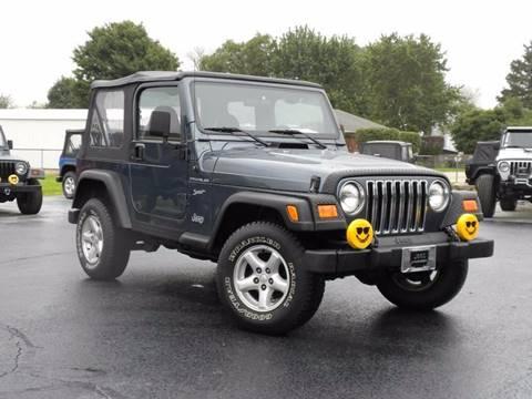 2002 Jeep Wrangler for sale in Fairmount, IN
