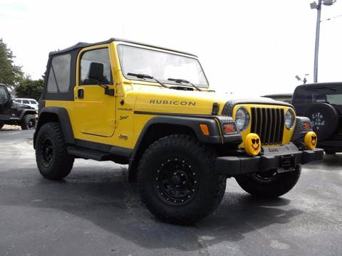 Used 2002 Jeep Wrangler For Sale in Indiana - Carsforsale.com
