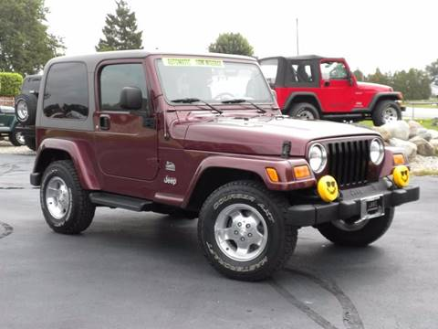 2003 Jeep Wrangler for sale in Fairmount, IN