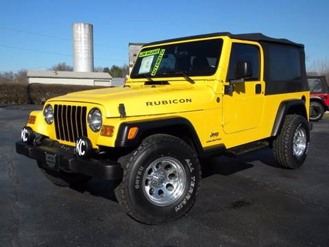 2004 Jeep Wrangler for sale in Fairmount, IN