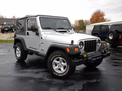 2005 Jeep Wrangler for sale in Fairmount, IN