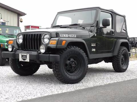 2005 Jeep Wrangler for sale in Fairmount, IN
