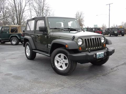 2008 Jeep Wrangler for sale in Fairmount, IN