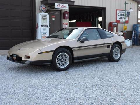 1987 Pontiac Fiero for sale in Fairmount, IN