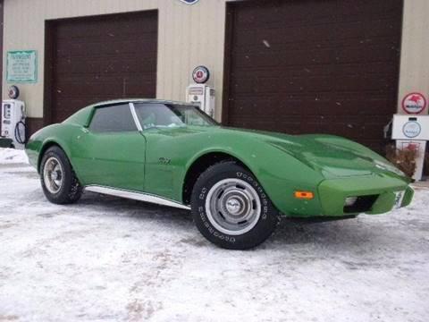 1975 White Corvette Rare L82 4spd - YouTube
